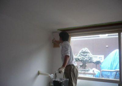 室内断熱塗装