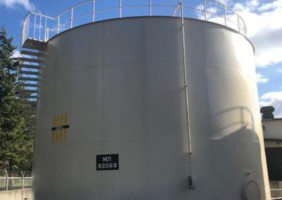 タンク施工事例 (外面)
