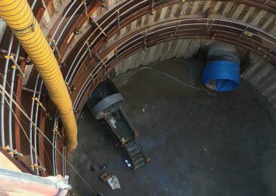 推進管内防食塗装1