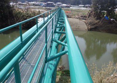 水管橋塗替え工事 (3)