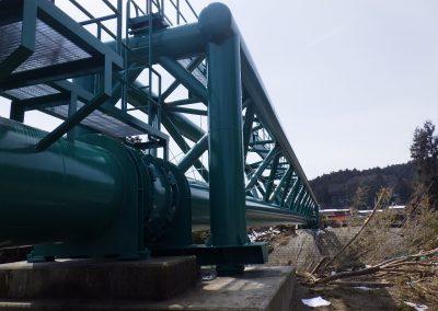 水管橋塗替え工事 (2)